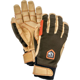 Hestra Ergo Grip Active Gloves dark forest/natural brown